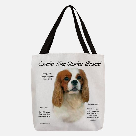 Cavalier (Blenheim) Polyester Tote Bag