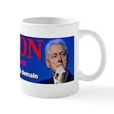 Clinton pour le president Small Mug