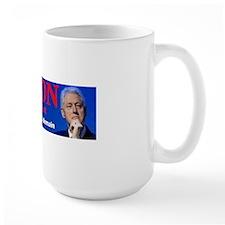 Clinton pour le president Mug