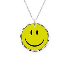 big smiley face Necklace