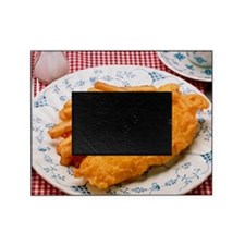 Plate of fried fish Picture Frame