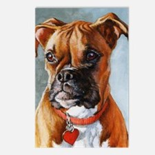 Boxer Dog Postcards (Package of 8)