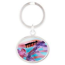 m3301543 Oval Keychain