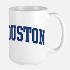 HOUSTON design (blue) Mugs