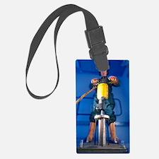 Pneumatic drill testing Luggage Tag
