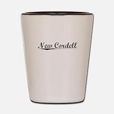 New Cordell, Vintage Shot Glass