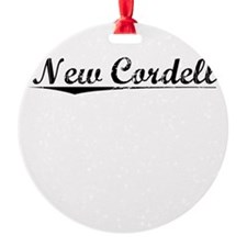 New Cordell, Vintage Ornament