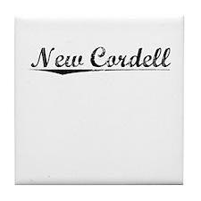 New Cordell, Vintage Tile Coaster