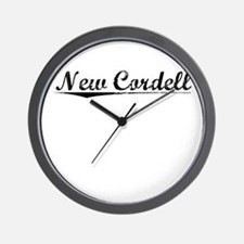 New Cordell, Vintage Wall Clock