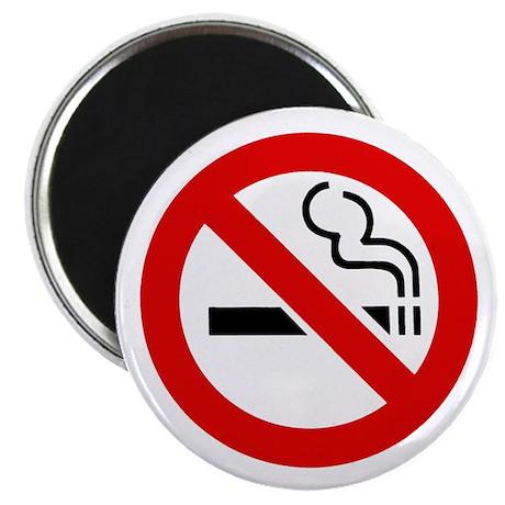 """No Smoking Symbol 2.25"""" Magnet (100 pack)"""