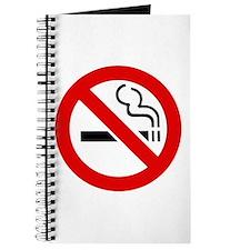 No Smoking Symbol Journal