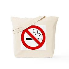 No Smoking Symbol Tote Bag