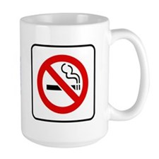 No Smoking Symbol Mug
