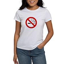 No Smoking Symbol Tee