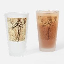 Pleasure and pain Drinking Glass