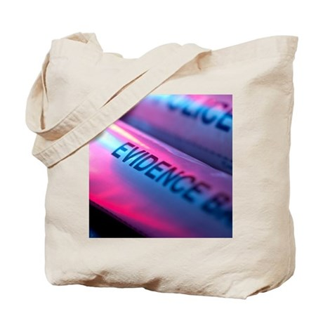 Police evidence bags Tote Bag