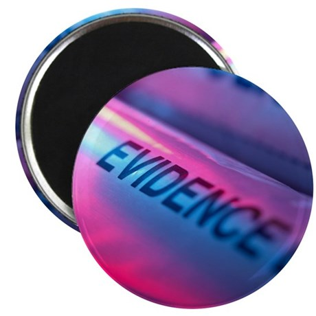 Police evidence bags Magnet