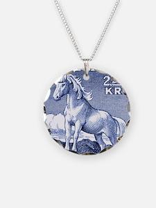 Iceland 1958 Icelandic Horse Necklace