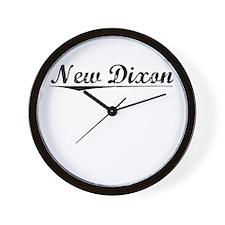 New Dixon, Vintage Wall Clock