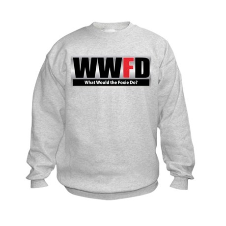 WW the Foxie D Kids Sweatshirt