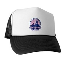 Retro Mermaid Trucker Hat