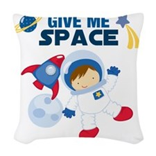 Give Me Space Woven Throw Pillow