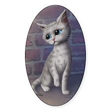 Sad Kitty Decal