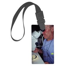 Plankton research Luggage Tag