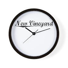 New Vineyard, Vintage Wall Clock