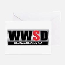 WW the Staby D Greeting Cards (Pk of 10)