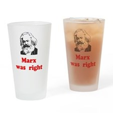 Marx was right #3 Drinking Glass