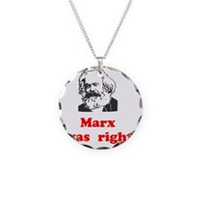 Marx was right #3 Necklace