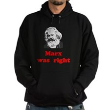 Marx was right #3 Hoodie