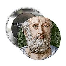 """Plato, Ancient Greek philosopher 2.25"""" Button"""