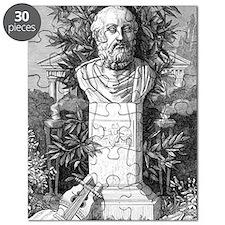Plato, Ancient Greek philosopher Puzzle