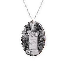 Plato, Ancient Greek philosoph Necklace Oval Charm