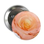 Peach Rose Button