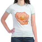Peach Rose Jr. Ringer T-Shirt