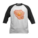 Peach Rose Kids Baseball Jersey