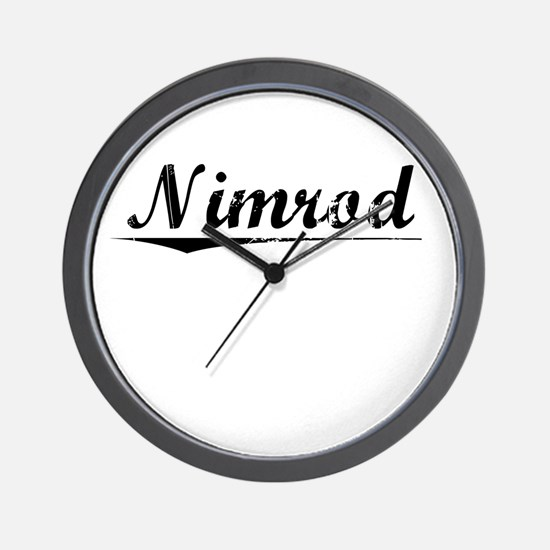 Nimrod, Vintage Wall Clock