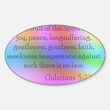 Galatians 5:22-23 Decal
