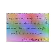 Galatians 5:22-23 Rectangle Magnet
