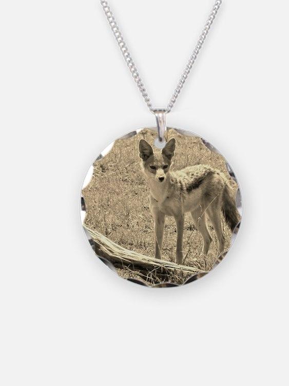 Scopey Jackal Sepia Necklace