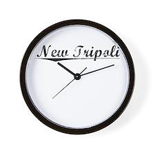 New Tripoli, Vintage Wall Clock