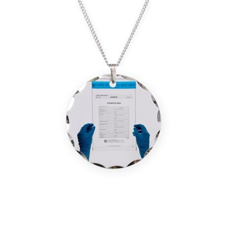 Police evidence bag Necklace by Admin_CP66866535
