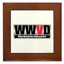 WW the Vallhund D Framed Tile