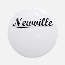 Newville, Vintage Round Ornament