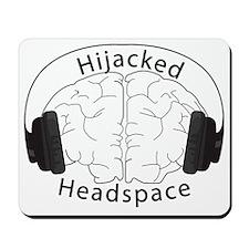Hijacked Headspace Headphones Logo Mousepad