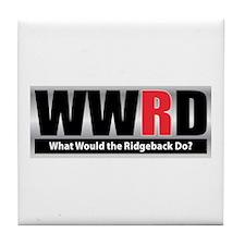 WW the Ridgeback D Tile Coaster