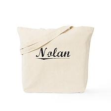 Nolan, Vintage Tote Bag